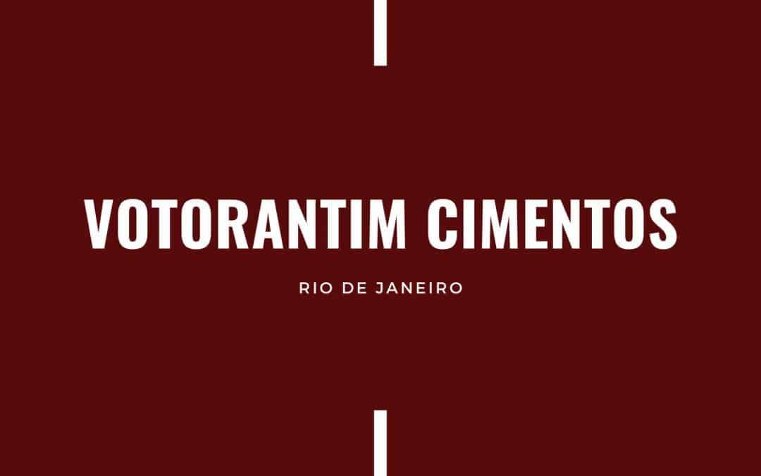 VOTORANTIM CIMENTOS RJ