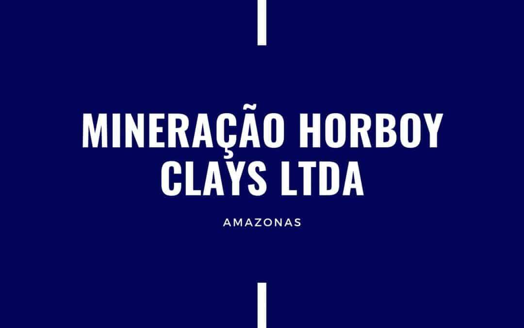 MINERAÇÃO HORBOY CLAYS