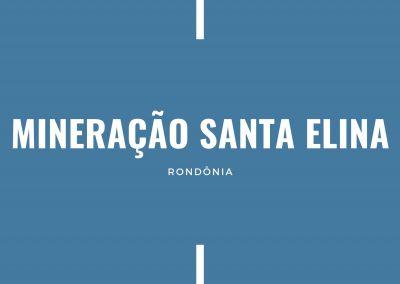 MINERAÇÃO SANTA ELINA RO